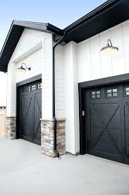 full image for black garage door paint color sherwin williams tricorn bunchs beautiful homes of instagramgarage