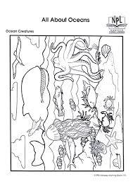 Disegno Da Colorare Animali Marini Cat 8987 Images