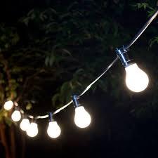weatherproof festoon lighting 20 black bulb holders