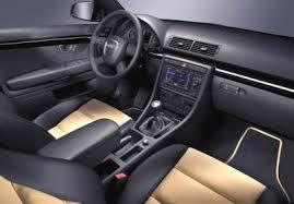 black audi a4 interior. audi a4 with exclusiive line interior upgrade black