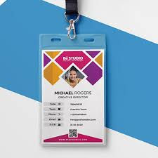 Id Card Design Holder Card Lanyard Accessories