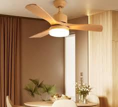 Amazon Com Modern Ceiling Fan Light Restaurant Led Living