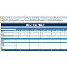 How To Make A Budget Spreadsheet In Excel Home Budget Template ...