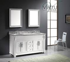 Bathroom Vanity Double Beauteous Virtu USA Victoria Double 48Inch Transitional Bathroom Vanity