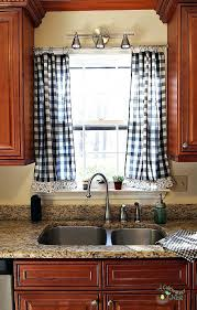 gingham country curtains other collections of country plaid kitchen curtains decor french country gingham curtains