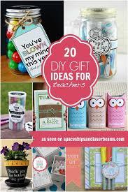 diy gift ideas teachers