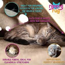 the ripple rug cat play mat made in we are manufacturer puzzle cat puzzle rug
