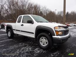2004 Chevrolet Colorado Z71 Extended Cab in Summit White - 203991 ...
