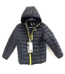 Gerry Kids Down Packable Jacket Black Xs 6 Ultra Light 90
