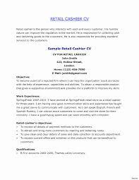 Resume Paper Walgreens Best Of Resumes Cashier Restaurant Job