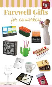 farewell gifts for departing coworkers goodbye gift ideas for female and male colleagues