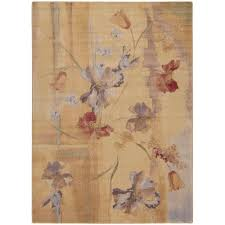 nourison somerset beige 8 ft x 11 ft area rug