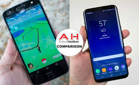 Phone Comparisons Moto Z Force Vs Samsung Galaxy S8