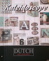 Bruin Steigerhout Behang Dutch Kaleidoscope J868 08 Dutch