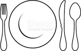 dinner table setting clipart. dinner table setting clipart s