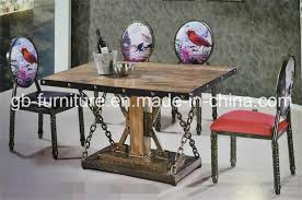 industrial restaurant furniture. Amercian Industrial Style Restaurant Furniture Table\u0026Chair Set Industrial Restaurant Furniture