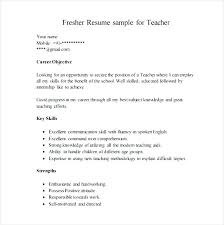 Sample Of A Resume Format Sample Resume Resume Format For Call