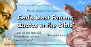God Quotes The Most Googled Quotes From God In The Bible Fascinating Famous Quotes About God