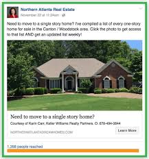 Local Homes For Sale By Owner Real Estate Advertising 43 Great Examples Of Real Estate Facebook Ads