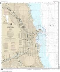 Lake Michigan Nautical Chart 14928 Chicago Harbor Nautical Chart