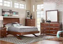 king platform bed set. Modren Set Belcourt Cherry 5 Pc King Platform Bedroom With Sleigh Headboard   Contemporary Inside Bed Set O