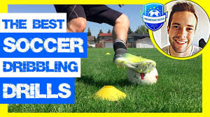15 Soccer Dribbling Drills (Improve in ONLY 1 session) *Football - YouTube