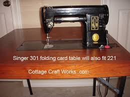 Singer 221 Featherweight Sewing Machine Table
