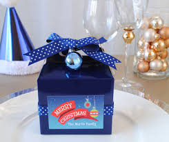 diy party favors made with gable boxes we found at target