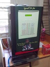 Fresh Milk Tea Vending Machine Impressive Fresh Milk Tea Coffee Vending MachineSemi Automatic Gemini Machine