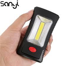2 Mode <b>COB LED Magnetic Working</b> Folding Hook Pocket Torch ...