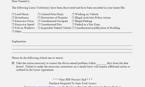Lease Violation Form Free Eviction Notice Form Free Eviction Notice Template Download