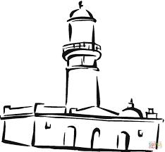 Moskee In De Stad Kleurplaat Gratis Kleurplaten Printen