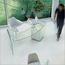 modern glass office desk. Home Office Glass Desks On Five Trendy Desk L Modern