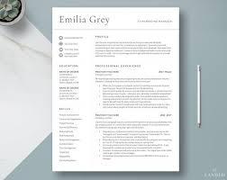 Modern Resume For Freshmen Creative Resume Templates Get Landed