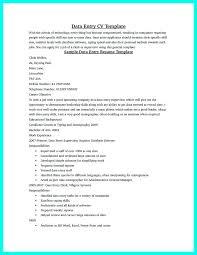 Sample Resume Of Data Entry Clerk Data Entry Clerk Resume Sample