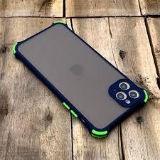 Ốp lưng chống sốc toàn phần dành cho iPhone 11 Pro Max - Màu xanh dương |  PS CASE