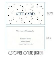 Gift Certificate Letter Template Free Printable Gift Certificate Template Voucher Examples
