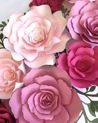Rose Paper Flower Making Paper Flowers Paper Flowers Easy And Beautiful Paper Flowers