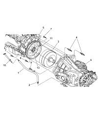 2004 chrysler concorde transaxle mounting related parts diagram 00i77792