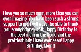 Birthday Quotes For Mom Delectable The 48 Happy Birthday Mom Quotes WishesGreeting