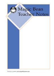 Medical Note Extraordinary ERA48 Magic Bean NF A Children's MedicalTeacher Note [R