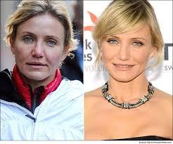 hollywood celebrities without makeup cameron diaz