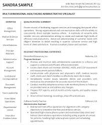 Administrative Resume Sample Administrative Assistant Resume Sample ...