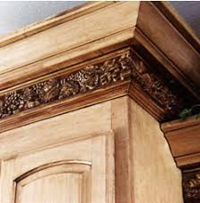 kitchen moldings:  images about crown molding on pinterest ceilings to the and kitchen bars