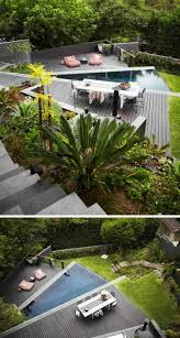 Terrasse Sur Terrain En Pente En 10 Id Es D Am Nagement Moderne