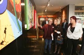 Inauguran exposición pictórica del artista veracruzano Alan Téllez