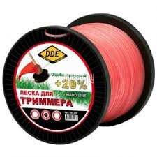 Купить <b>Леска для триммера DDE</b> Hard Line 2.4mm x 180m Grey ...