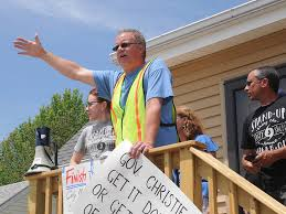 protest at shore targets sandy repair program