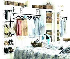 Ways To Organize Clothes Without A Closet Storage For Bedroom Without Closet  Small Bedroom Closet Storage