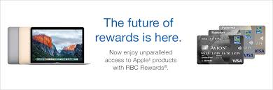 experience apple through rbc rewards